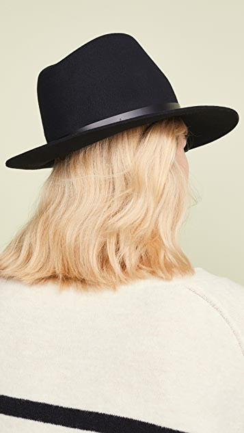 Rag & Bone Шляпа-федора с гибкими полями