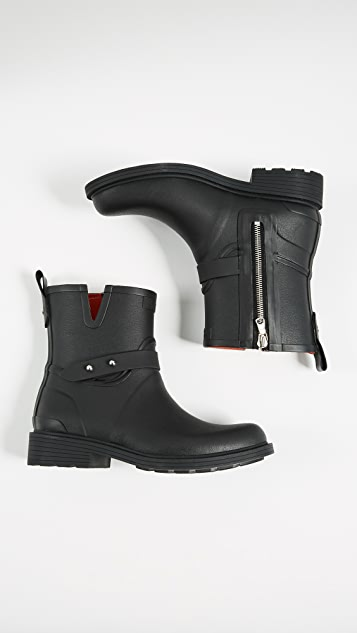 Rag & Bone Moto Rain Boots