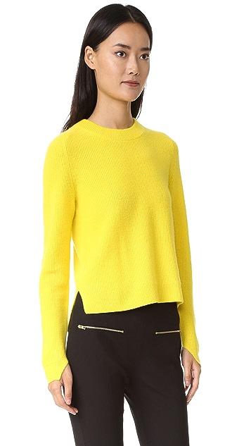 Rag & Bone Valentina Cashmere Cropped Sweater