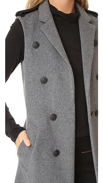 Rag & Bone Идеально скроенный жилет Ashton
