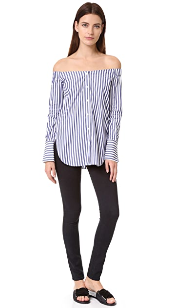 Rag & Bone Kacy Off Shoulder Tunic