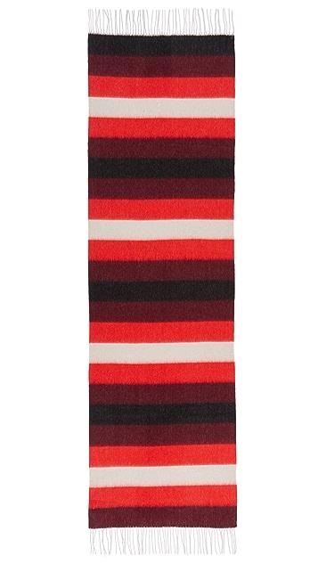 Rag & Bone Brushed Blanket Stripe Scarf
