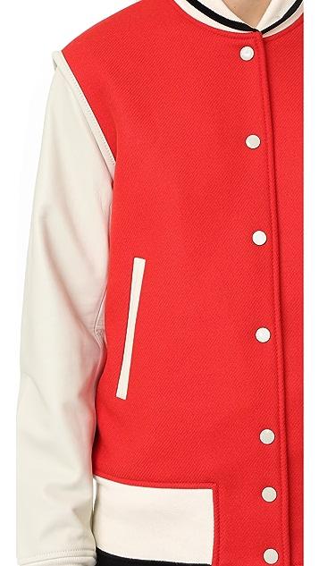 Rag & Bone Edith Varsity Jacket