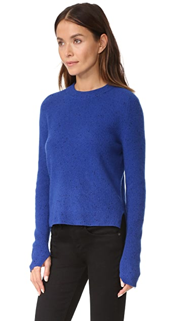 Rag & Bone Valentina Cashmere Crop Sweater