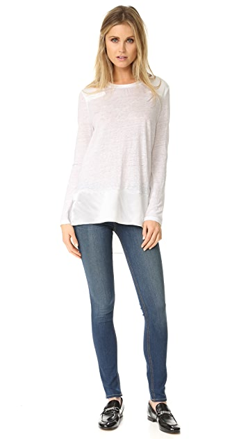 Rag & Bone Riley Long Sleeve Tee