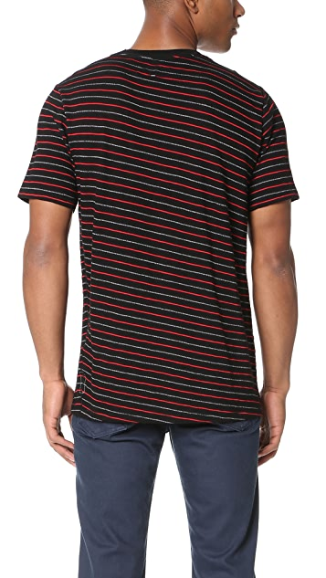 Rag & Bone Striped Colin Tee