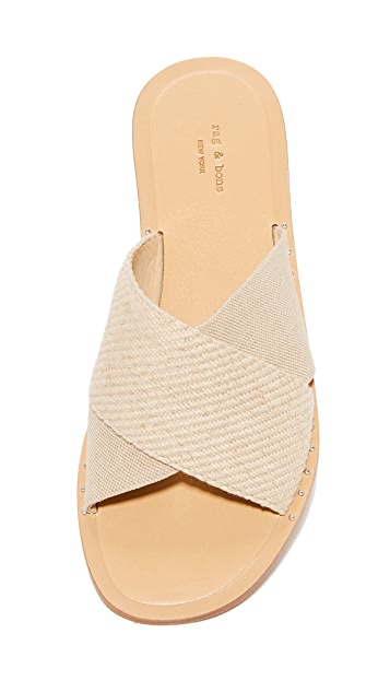 Rag & Bone Keaton Crisscross Slides