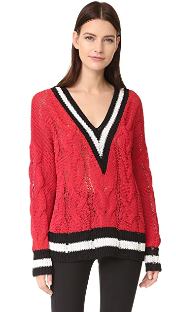 1b4ae5026eb603 Rag   Bone Emma V Neck Sweater