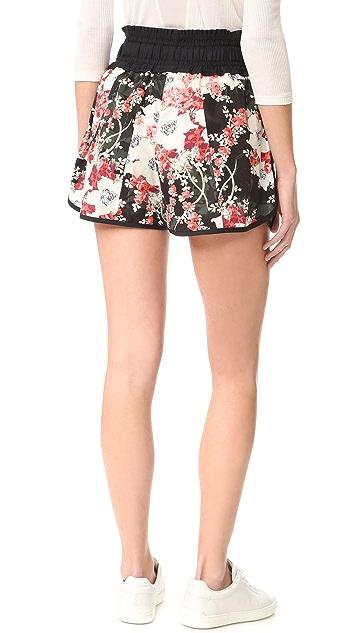 Rag & Bone Lennox Floral Shorts