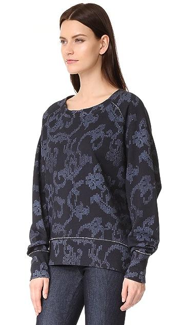 Rag & Bone Max Printed Sweatshirt