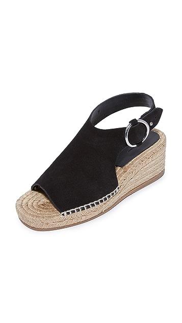 Rag & Bone Calla Wedge Sandals