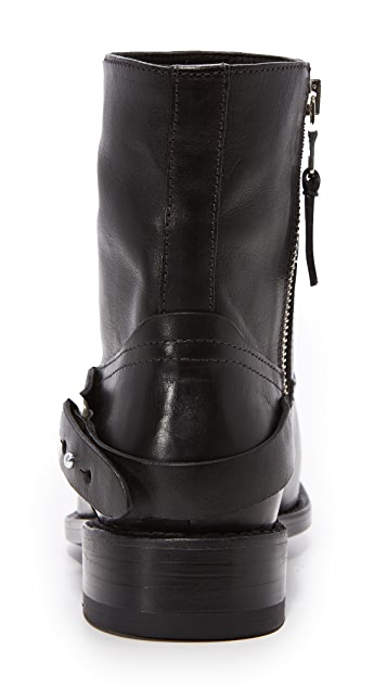 Rag & Bone Oliver Zip Moto Booties