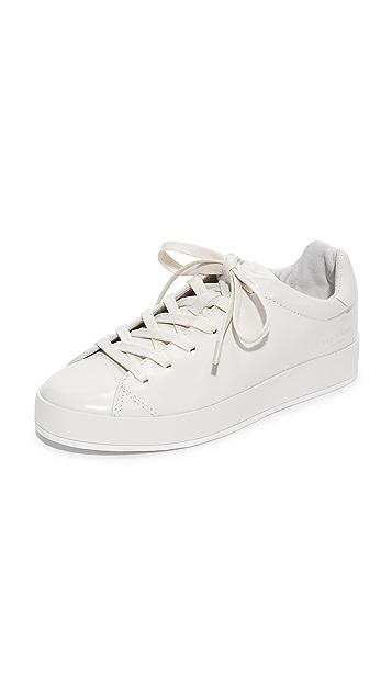 RAG&BONE Leather Sneakers with Fur Gr. IT 41 47mEKLSnuM