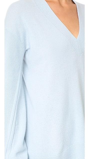 Rag & Bone Ace Cashmere V Neck Sweater