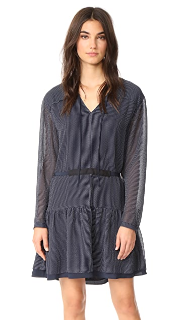 Rag & Bone Blake Long Sleeve Dress
