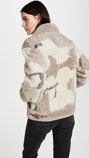 Rag & Bone Jake Shearling Jacket