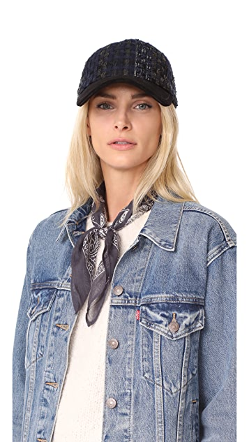 Rag & Bone Marilyn Tweed Baseball Cap