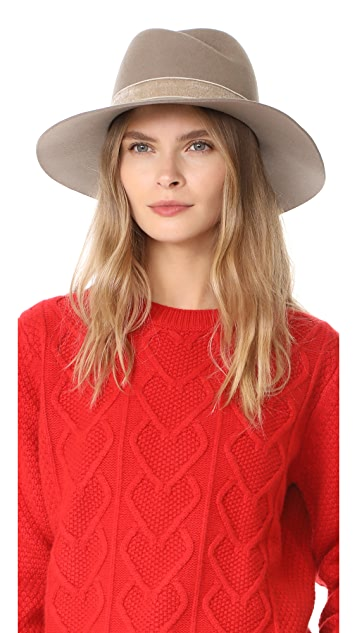 1aecac3a65237 Rag   Bone Zoe Fedora Hat