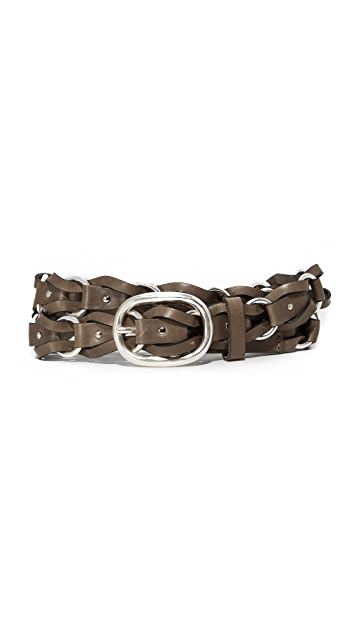 Rag & Bone Mason Woven Belt