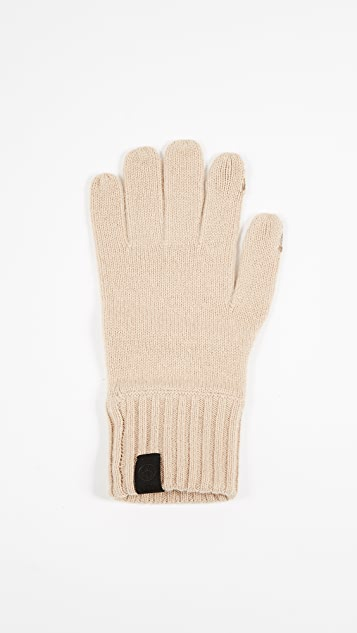Rag & Bone Ace Cashmere Texting Gloves