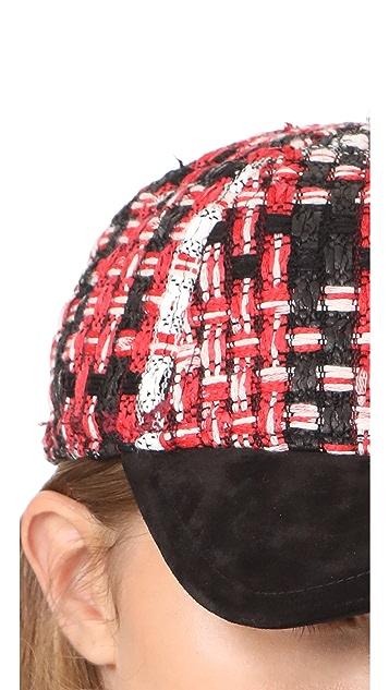 Rag & Bone Marilyn Tweed Baseball Cap
