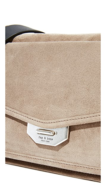 Rag & Bone Маленькая сумка-портфель Field