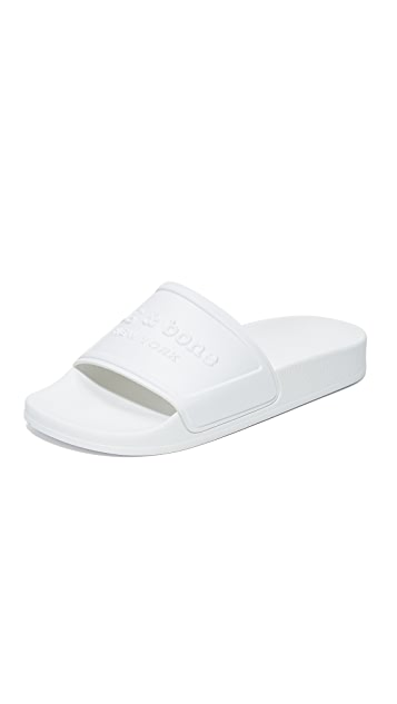 Rag & Bone Logo Pool Slides