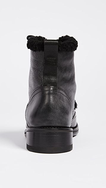 Rag & Bone Cozen Shearling Booties