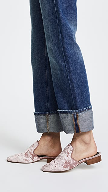 Manchester online classic cheap price Rag & Bone Luis Velvet Mules outlet get to buy cheap top quality rAMxXQ