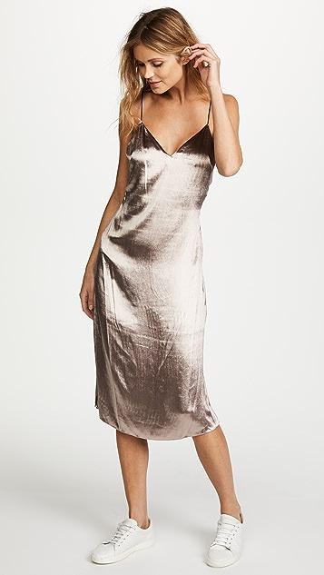 Rag & Bone Parker Velvet Slip Dress