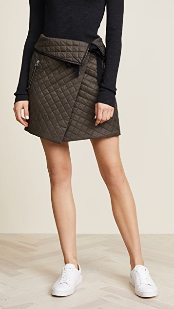 Rag & Bone Jane Skirt - Green