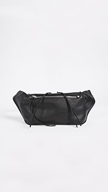 Rag & Bone Large Ellis Fanny Pack - Black