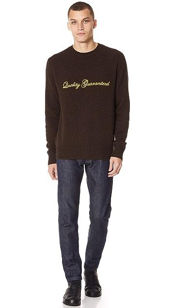 Rag & Bone Victor QG Crew Sweater