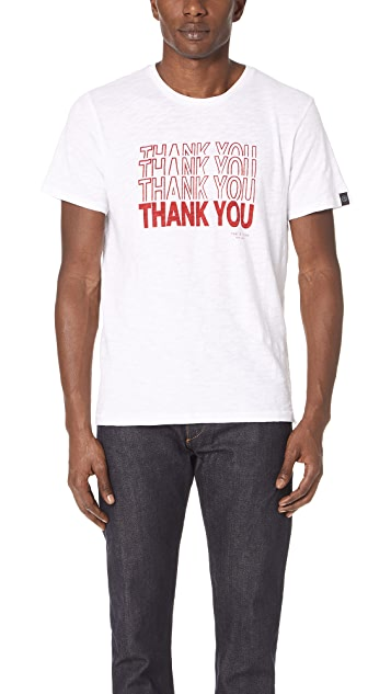 Rag & Bone Thank You Tee