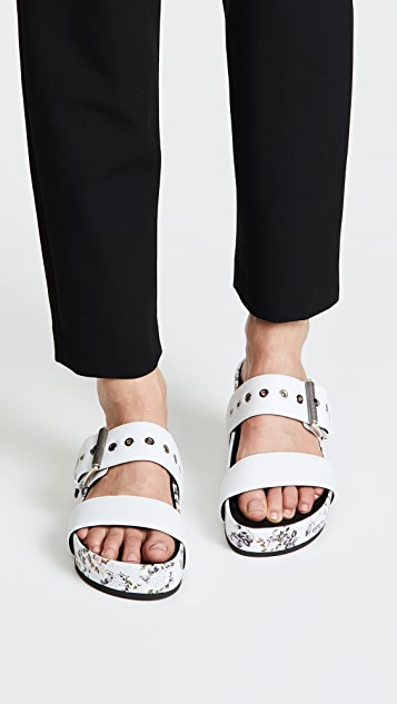 Rag & Bone Evin Buckle Slides