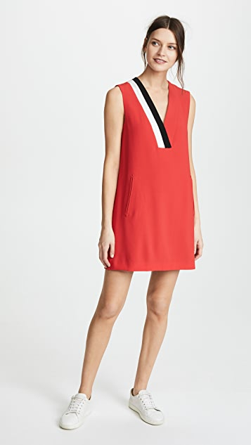 Rag & Bone Lodwick Dress - Red