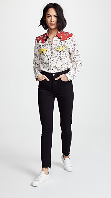 Rag & Bone Floral Jasper Shirt