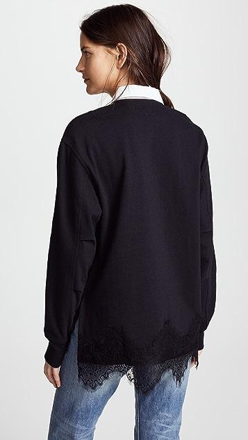 Rag & Bone Lace Rugby Shirt