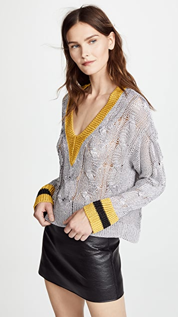 Emma V Neck Sweater by Rag & Bone