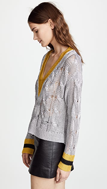 Rag & Bone Emma V Neck Sweater