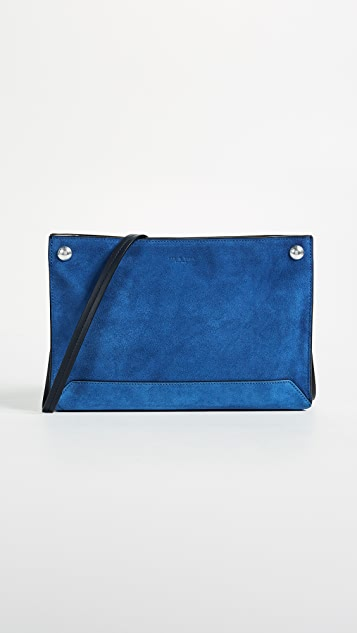 Rag & Bone Compass Cross Body Bag - Deep Blue