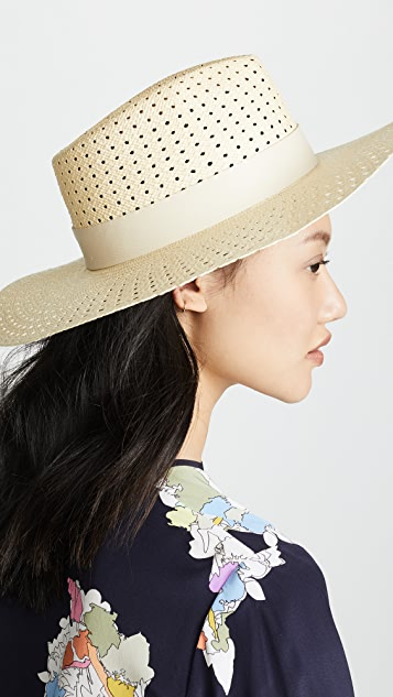 Rag & Bone Lacey Wide Brim Panama Hat