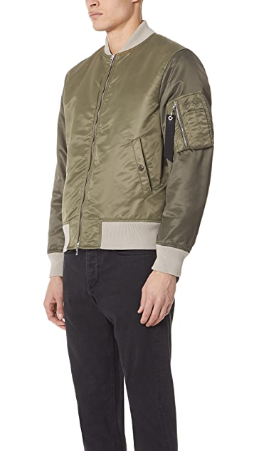 Rag & Bone Colorblock Manston Jacket