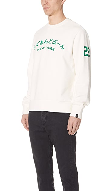 Rag & Bone Rb NY Japan Sweatshirt