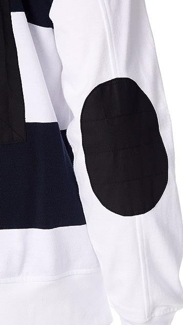 Rag & Bone Long Sleeve Rugby Polo