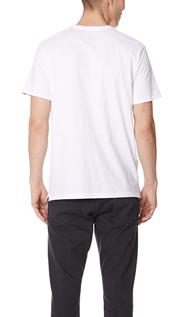 Rag & Bone Dagger Embroidery Tee
