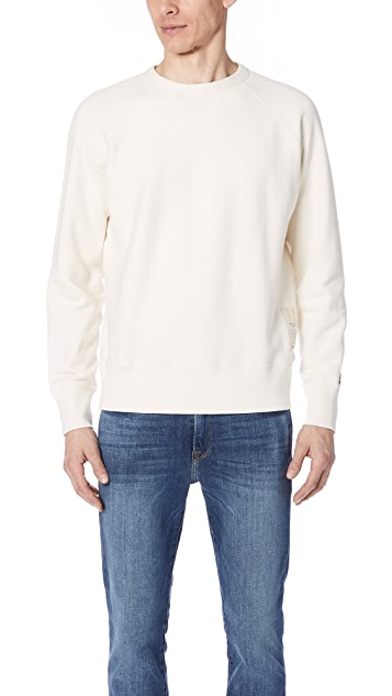 Rag & Bone Elbow Patch Sweatshirt