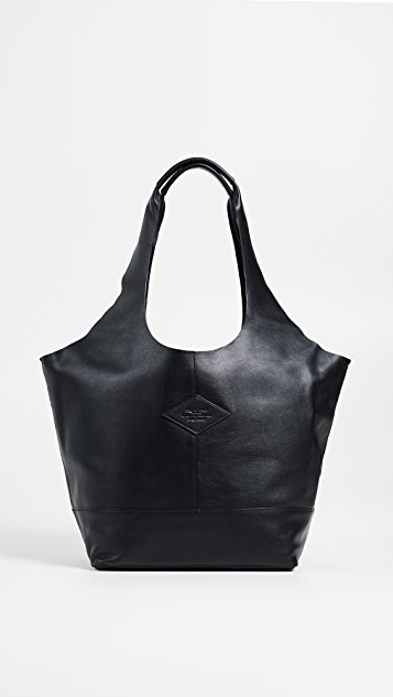 Rag & Bone Camden Shopper Bag - Black
