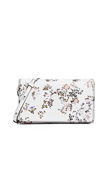Rag & Bone Floral Cross Body Wallet