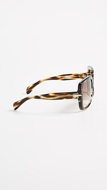 Rag & Bone Iconic Square Sunglasses